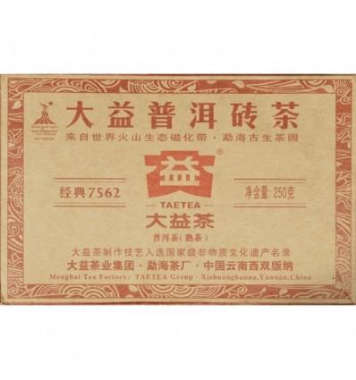 Пуэр Менхай Ча Чжуань 7562 2012 год 250 грамм