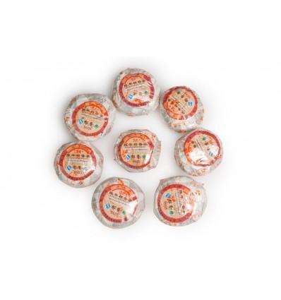 Пуэр (Шу) в мандарине (поставляется в упаковке по 8 штук)
