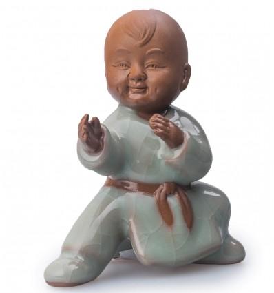 Мальчик Кунг-фу. Глиняная фигурка