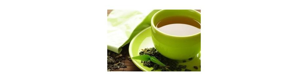 На основе зелёного чая
